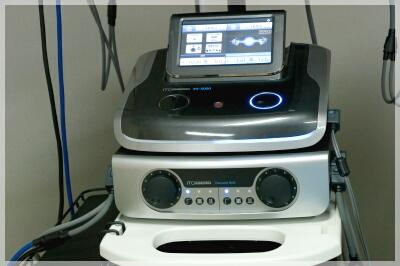 ES-5000(低周波治療器・干渉電流型低周波治療器組合せ理学療法機器)